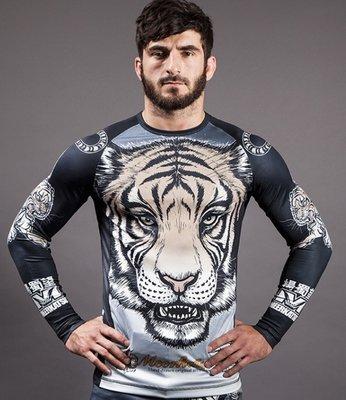 Rashguards Meerkatsu Midnight Tiger Vechtsport Online winkel