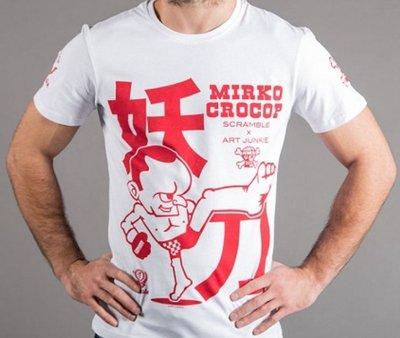 SCRAMBLE X Crocop X Art Junkie Tokyo Vechtsport T Shirt