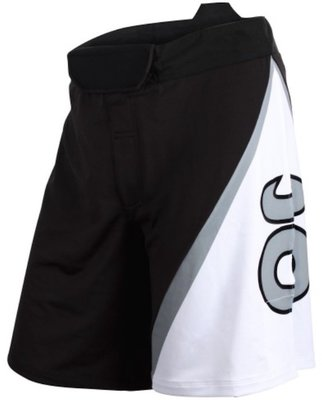 TENACITY Resurgence Fight Short Black White