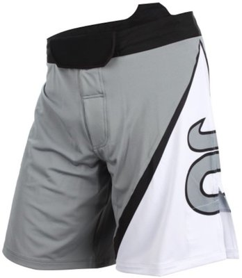 TENACITY Resurgence Fight Short Grey White
