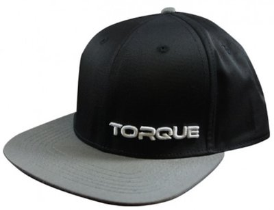 Stealth TORQUE Sports Snapback Cap Pet Black Grey