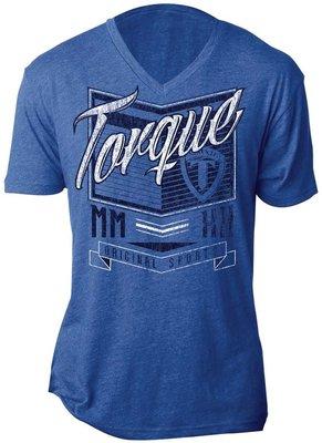 Torque Vertex T Shirts Blue MMA Kleding
