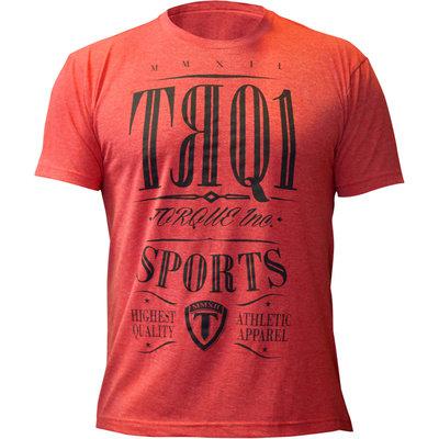 Torque TRQ1 Vechtsport T Shirt Red MMA Shop