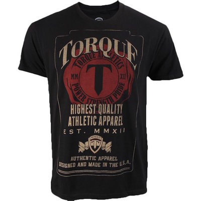 Torque Initials Vechtsport T Shirt MMA Apparel