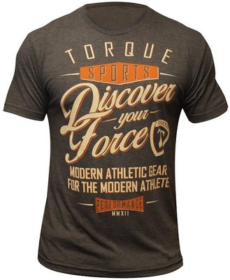 Torque Discover Your Force T Shirt Brown MMA Shop