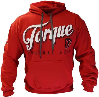 Torque Torsion Hoodie Red Vechtsport Nederland