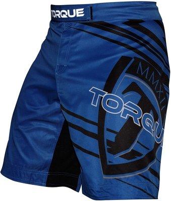Torque Propulsion Performance MMA Fight Shorts Blue