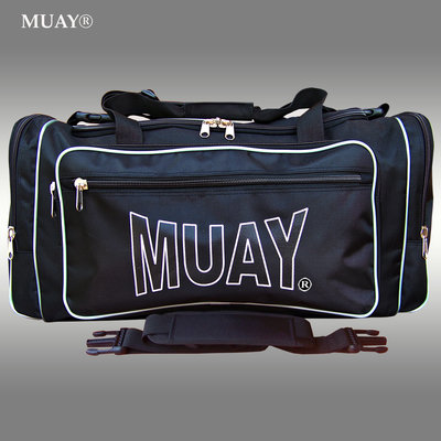 MUAY Sporttas Gym Bag Kickboks Tas Zwart by MUAY Fightgear
