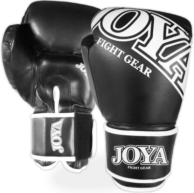 Joya Top One Bokshandschoenen Kick Boxing Zwart Wit