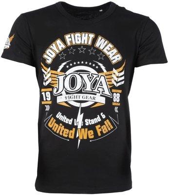 Joya T Shirts United we Fall Black size L
