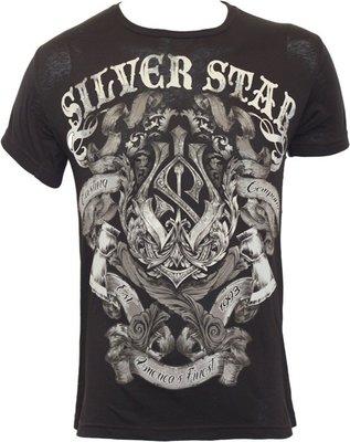 Silver Star Battle T Shirt Black Vechtsport Producten