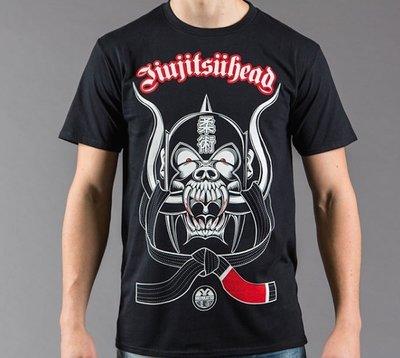 Meerkatsu JIU JITSU Head T Shirts BJJ Winkel