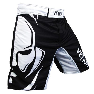 Venum Fightshorts Black White Wanderlei Silva Wand Shadow size XXL