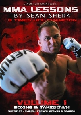 MMA Lessons SEAN SHERK From Boxing To Takedown