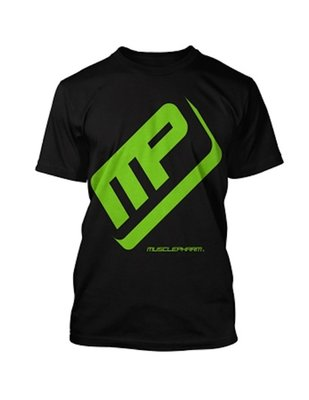 MusclePharm Performance T Shirt Black size S