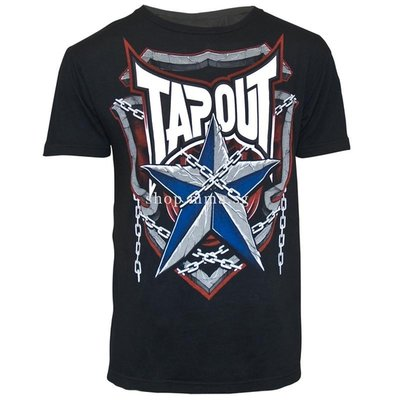 TapouT Pat Barry Shield of Honor T Shirt MMA Kleding