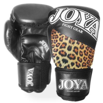 Joya Top One Leopard Kickboks Bokshandschoenen