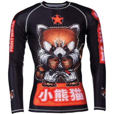 Tatami Meerkatsu Red Panda Rash Guard L/S BJJ Fightwear