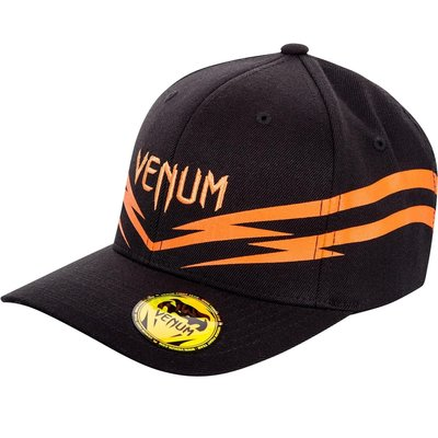 Venum Sharp 2.0 Cap Hat Pet Black Orange