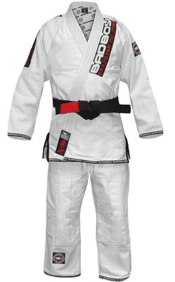 Bad Boy Premium Gi BJJ GI Kimono White BJJ Fight Gear