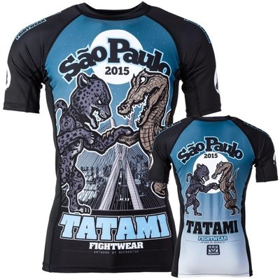 Meerkatsu Sao Paulo Rash Guard by Tatami Fightwear