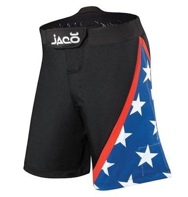 Tenacity Clothing USA Resurgence MMA Fight Shorts Black