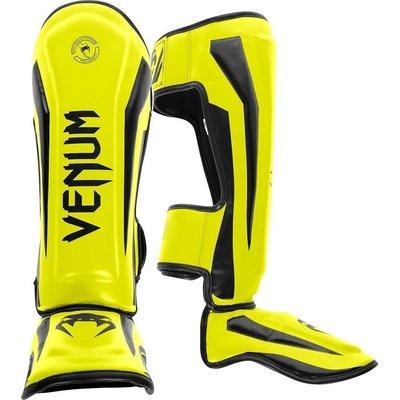 Venum ELITE Yellow Kickboks Scheenbeschermer by Venum