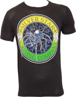 Silver Star Anderson Silva Spider T Shirt Black MMA Kleding
