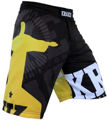 Krakenwear MMA Fight Shorts SFX Wanna Get Free