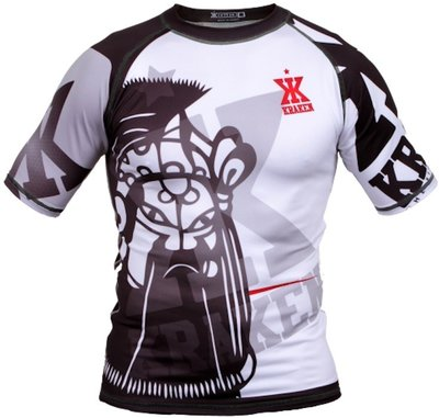 Kraken Wear Rash Guard The M4SK Black Ice Vechtsport Winkel