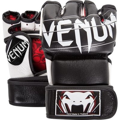 MMA Handschoenen Undisputed 2.0 Black Leather Venum Fightgear