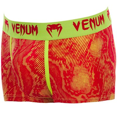 Venum FUSION Boxer Shorts Red Yellow Vechtsport Winkel