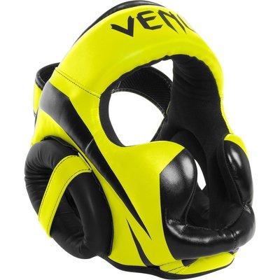 Venum ELITE Headgear Kickboks Hoofd beschermer Neo Yellow