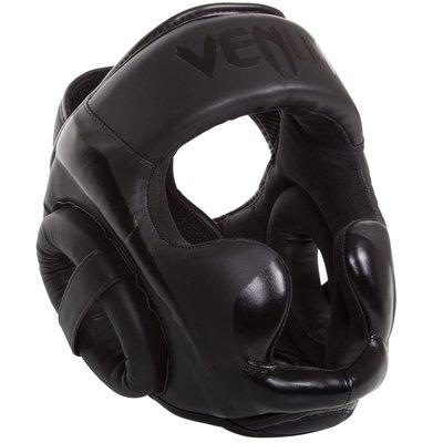 Venum ELITE Headgear Kickboks Hoofd beschermer Black