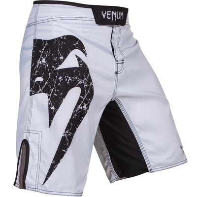 MMA Broek Venum Original Giant Fight Short White Black size XS