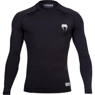 Venum Contender Compression T Shirt L/S Black 2.0
