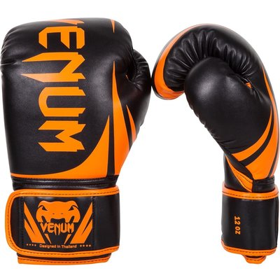 Bokshandschoenen Venum Challenger 2.0 Black Orange by Venum