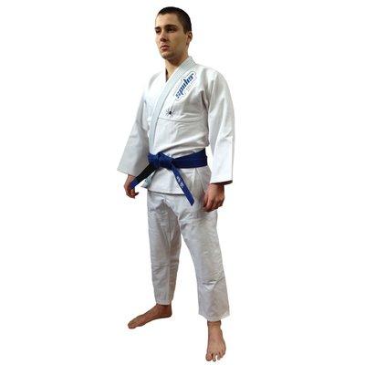 Spider BJJ Gi Kimono White Bij Fight Gear