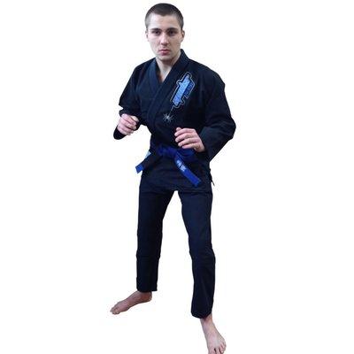 Spider BJJ Gi Kimono Black A2 Bij Fight Gear