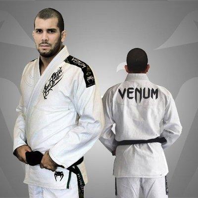 BJJ GI JJB Venum Kimono Competitor Single Weave White