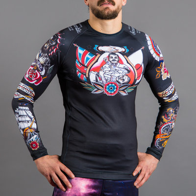 Scramble Tebori Rash Guard by Scramble BJJ Fightwear