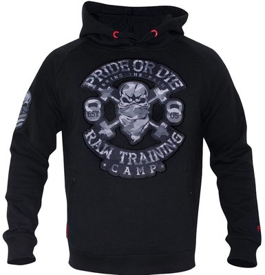 Hoodie PRiDEorDiE RAW TRAINING CAMP Urban