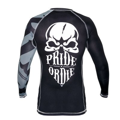 Pride or Die Rashguard RECKLESS Black White size S