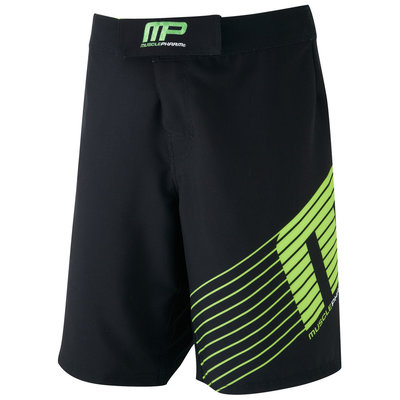 MusclePharm Sportline MMA Fight Short Black UFC Kleding