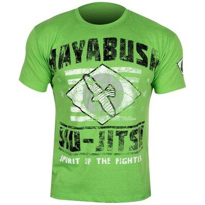Hayabusa Jiu Jitsu OSS T Shirt Green BJJ Online Shop