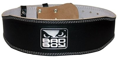 Bad Boy Leather Weight Lifting Belt
