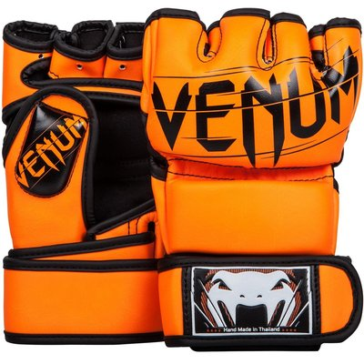 MMA Handschoenen Venum Undisputed 2.0 Hi Q PU Orange