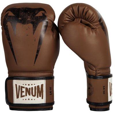 Venum Giant Muay Thai Sparring Kickboks Handschoenen Brown