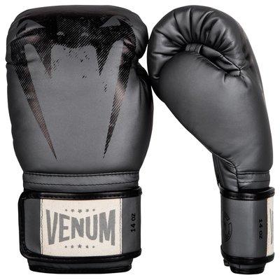 Venum Giant Muay Thai Sparring Kickboks Handschoenen Grey