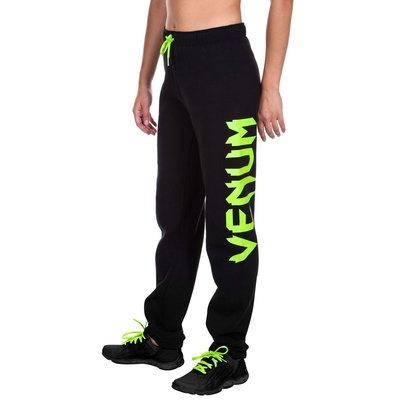 Venum Infinity Pants Joggers Black Yellow for Women